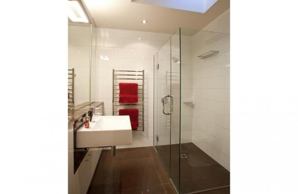 The ensuite is one of two new bathrooms.
