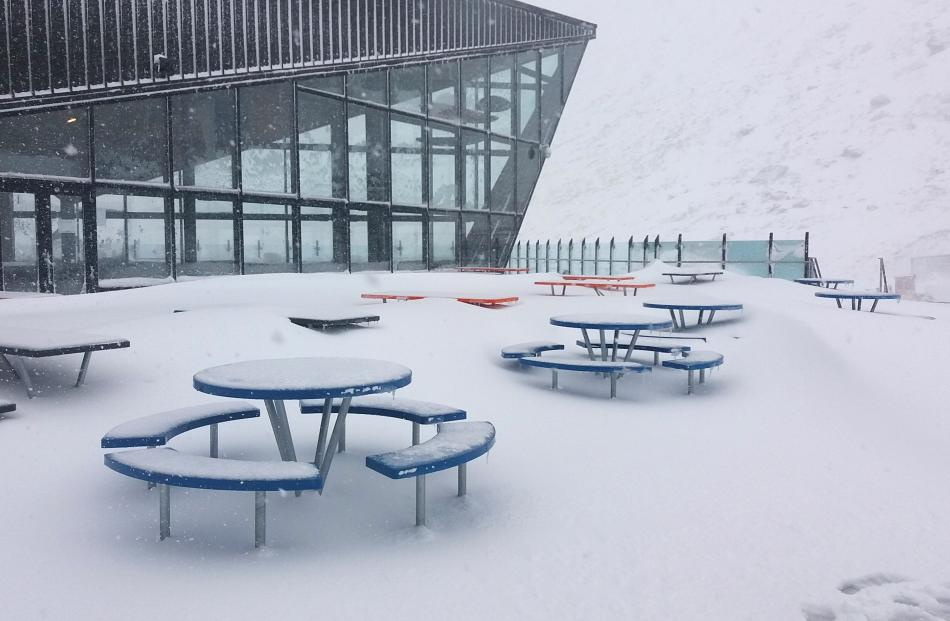 The Remarkables base building. Photo: supplied