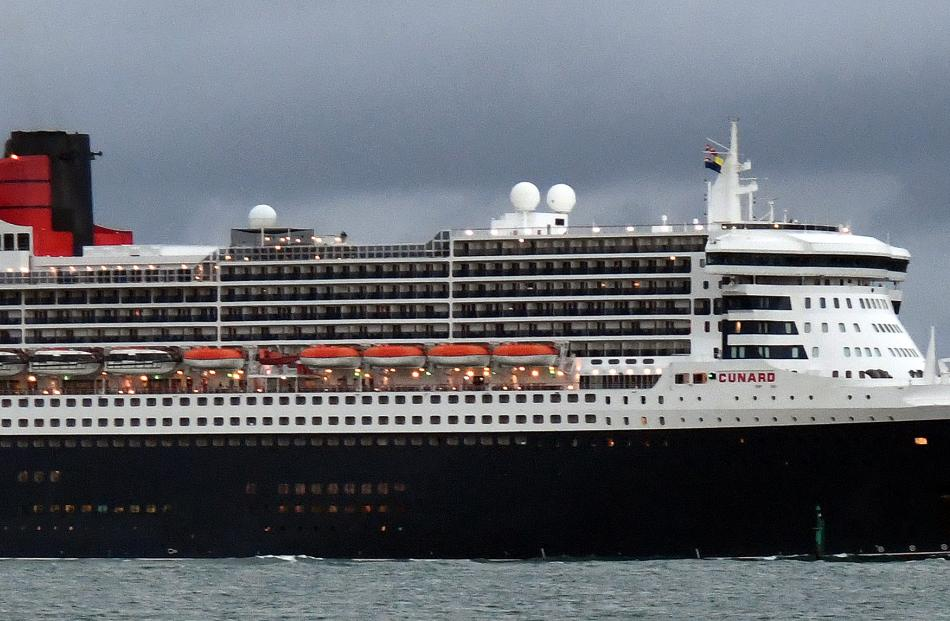 The luxury ocean liner Queen Mary 2. Photo: Craig Baxter