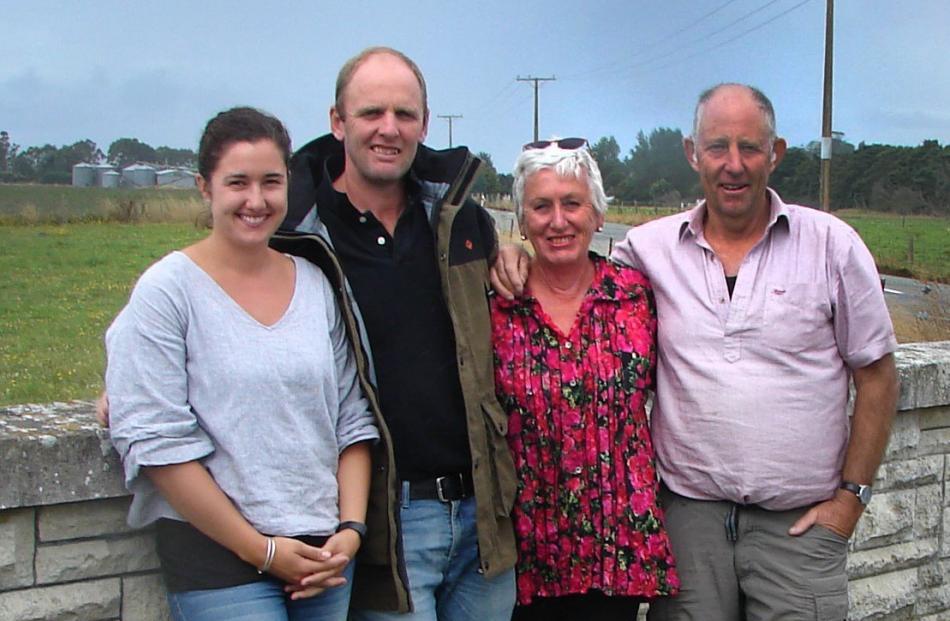 Bridget, James, Kathrin and Ray McNally.