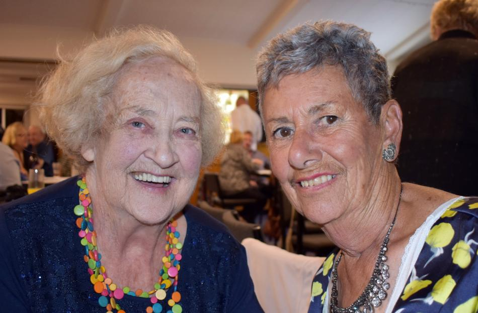 Marie Harbott and Rose Henderson, both of Dunedin.