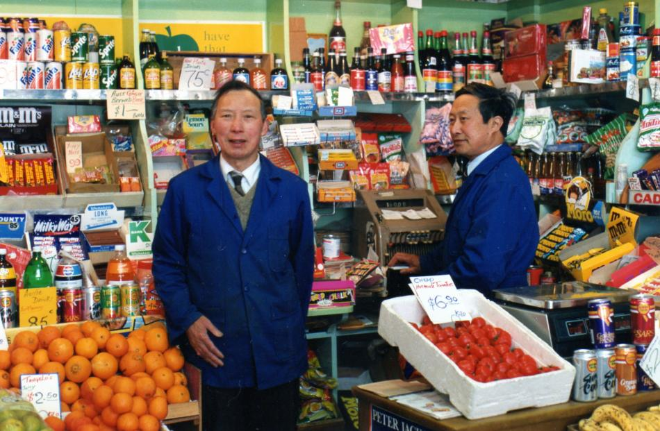 George Wong (left) and Bill Wong.