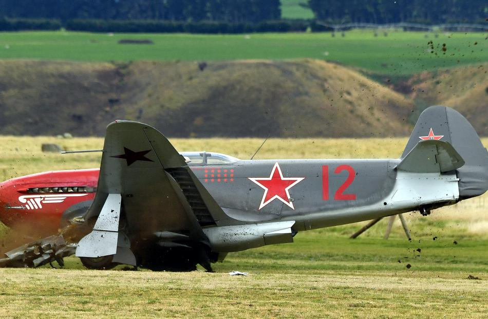 The Yak is one of two at Warbirds Over Wanaka. Photo: Stephen Jaquiery