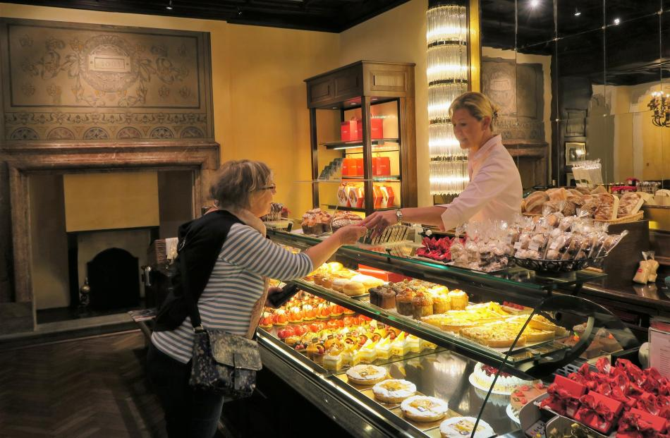 Grand Cafe Al Porto in Lugano has been serving decadent handmade confections since 1803.