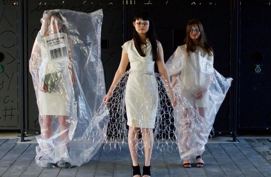 Some of Fiona Clements' #peakplastique collection