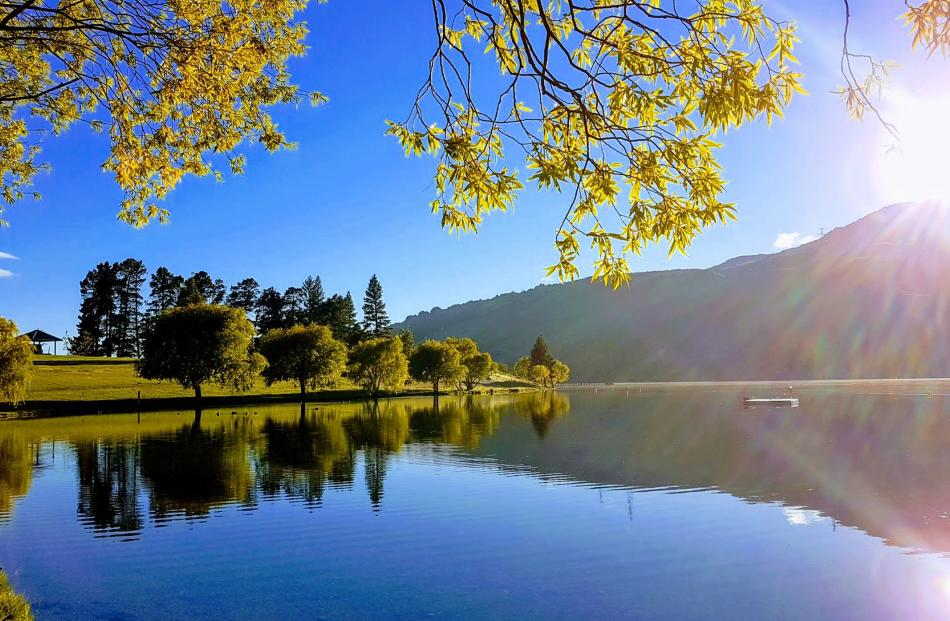 Lake Dunstan in Cromwell. PHOTO: John Wekking