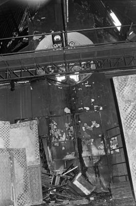 The main stage area of the Fortune was destroyed by fire in 1979. Photo: ODT