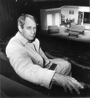 Roger Hall at the Fortune Theatre in 1983. Photo: GerardO'Brien