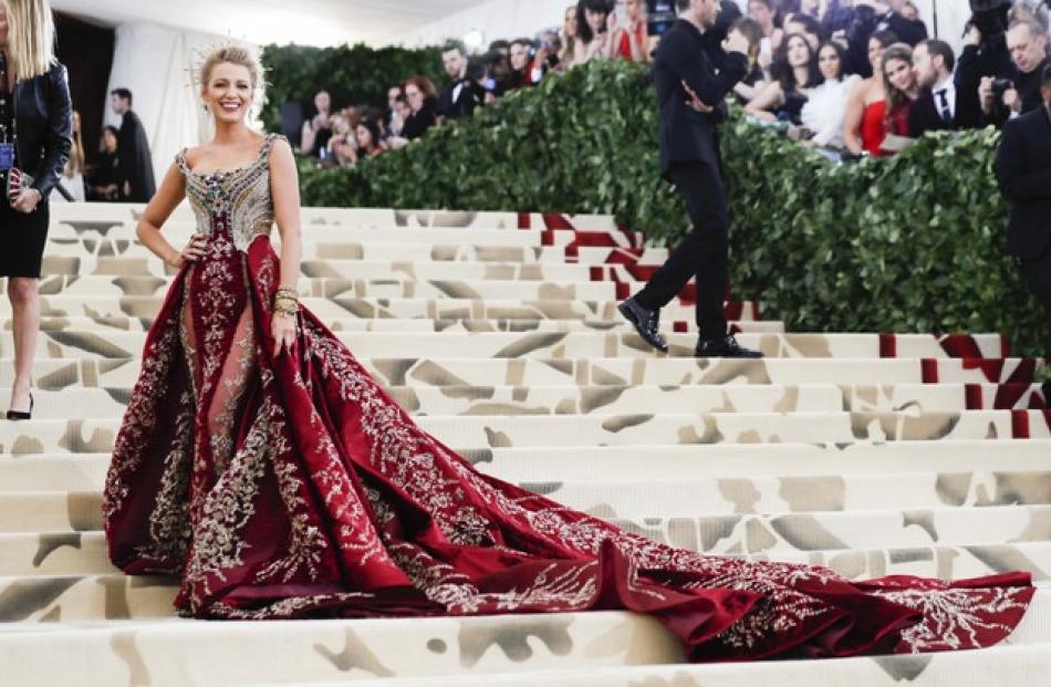 Actress Blake Lively. Photo: Reuters