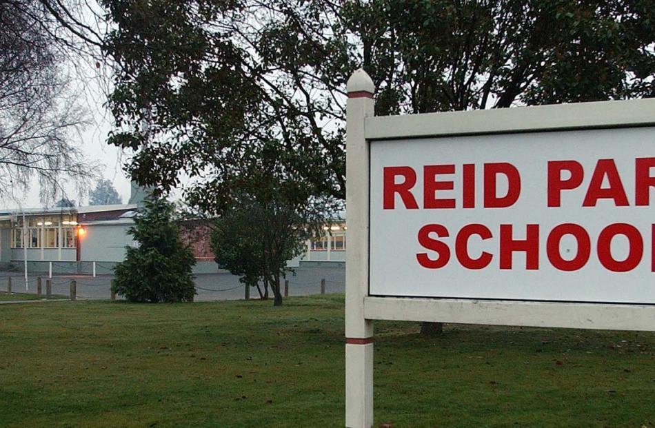 Reid Park School in 2003. Photo: Graig Baxter
