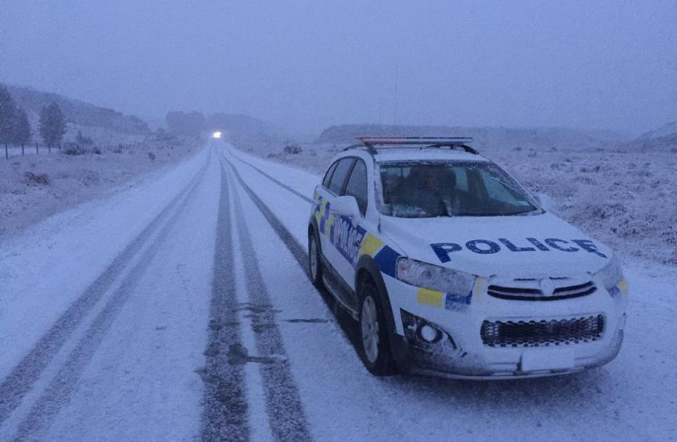 Ice and snow has made driving difficult in the South in recent weeks. Photo: Southern District...