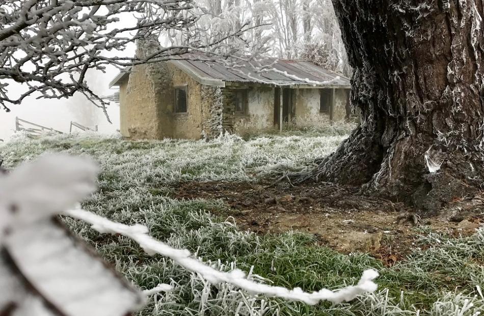 The picturesque rustic cottage at Fruitlands. Photo: Joy Bennett