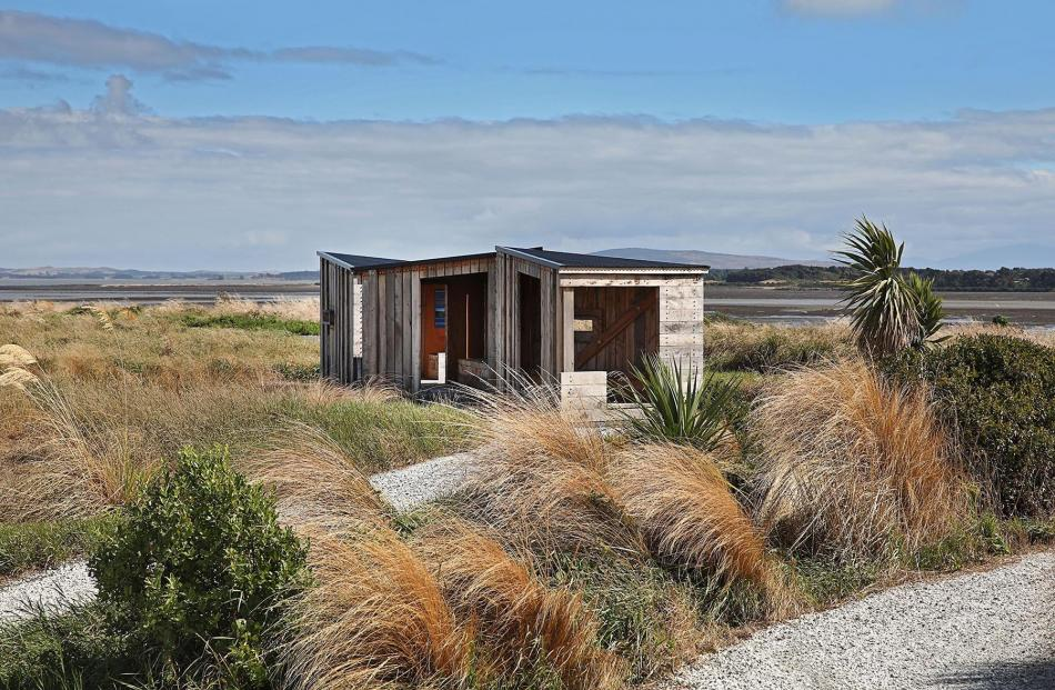 Invercargill Estuary Walkway Shelters, by Beattie McDowell Architects. Photo: Supplied