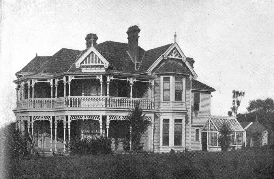 The original rest-home in Mornington. Photo: Otago Witness