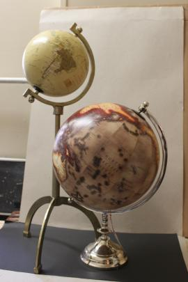 At Olivier Homes there's a fine selection of hard-tofind homewares, including globes, clocks,...