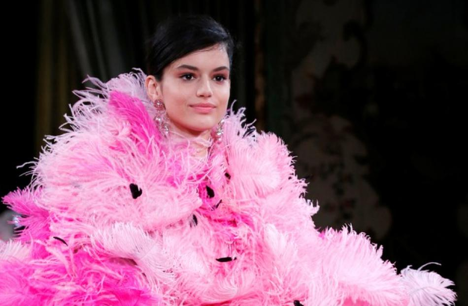 Paris Haute Couture Week, a celebration of the one-of-a-kind styles that require meticulous tailoring. Photo: Reuters