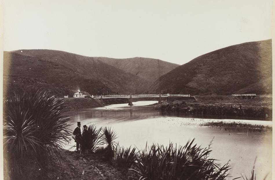 West Taieri, 1867. Silver albumen on card. PHOTO: HENRY A. FRITH. HOCKEN COLLECTIONS, UARE TAOKA...