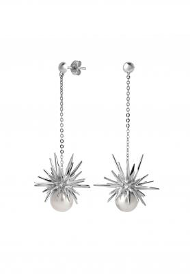 Karen Walker Forbidden Drop earring in silver