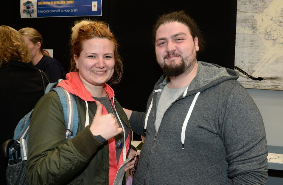 Hadil Catherina and Alaa Sukkar, both of Dunedin.