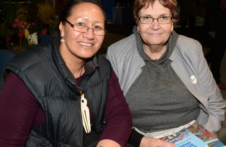 Tiahuia Kawe-Small, of Invercargill, and Chris Holtham, of Dunedin.