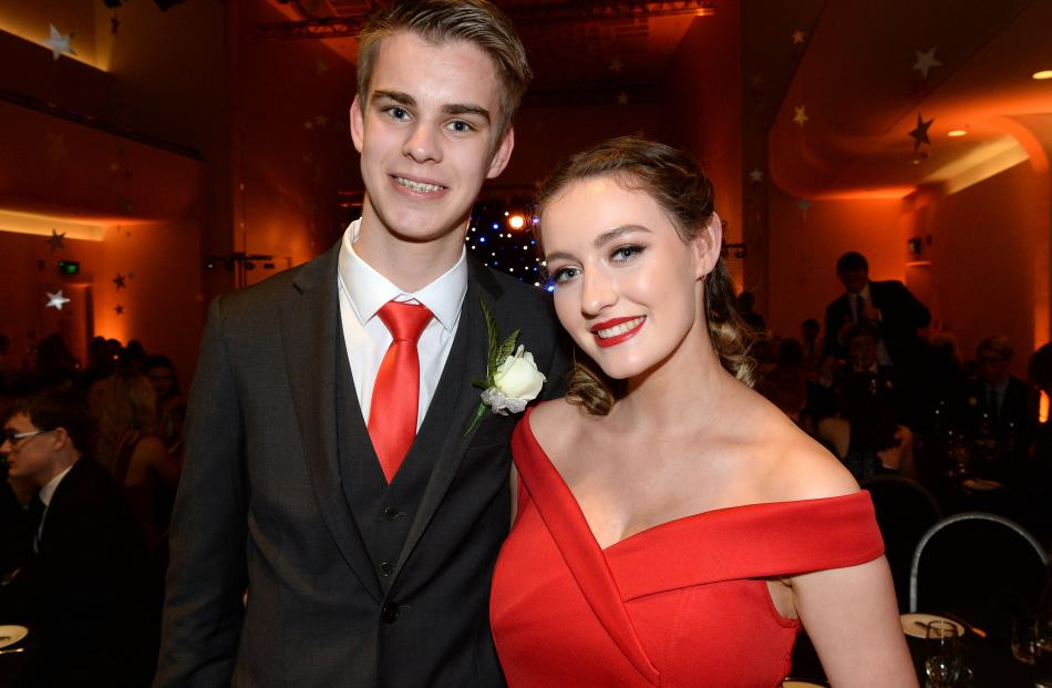 Hamish Phillips (17) and Katelin McGregor (16).