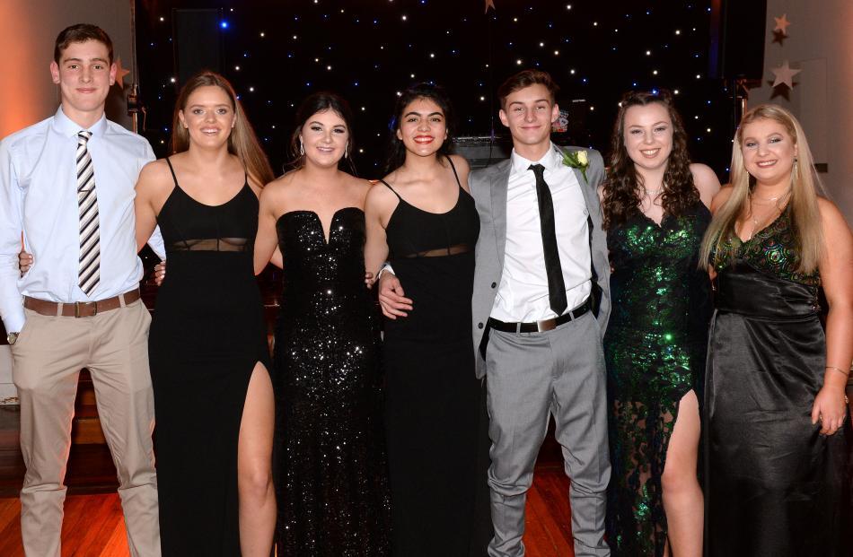 Christoph van Rooyen, Ella Ratcliff, Sophie Arlidge, Serena Ciancia-Lehmann (all 17), Flynn Mackley, Georgia McGill (both 18) and Olivia Larkins (17).