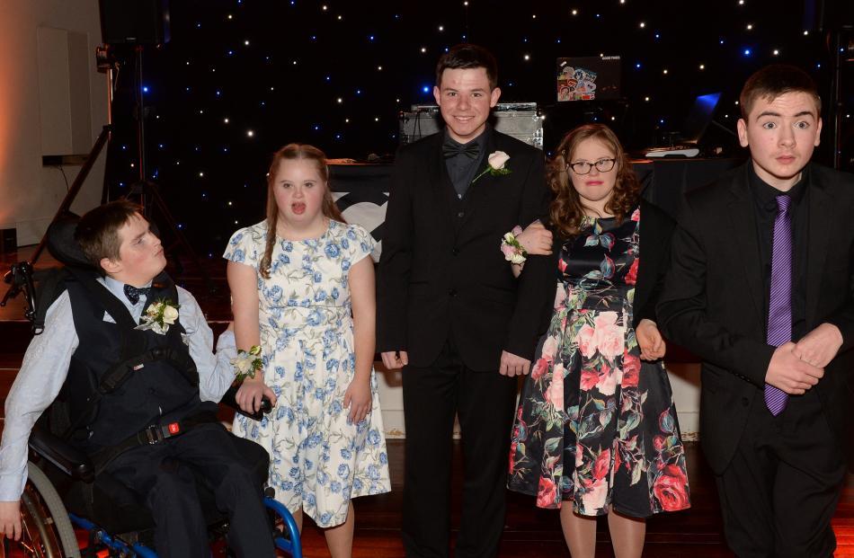 Timmy Flett, Laura Valentine (both 17), Tom Dreyer, Katie Beamish (both 18) and Eddie Gardner (17).
