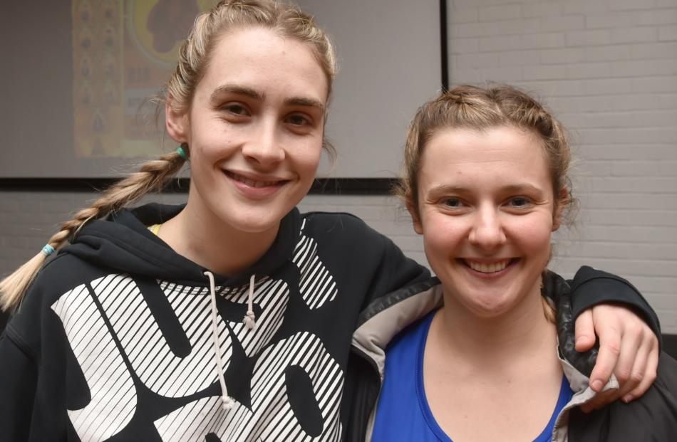 Natalie Waller (21) of Christchurch, and Madeline McIntyre-Wilson (24), of Wellington.