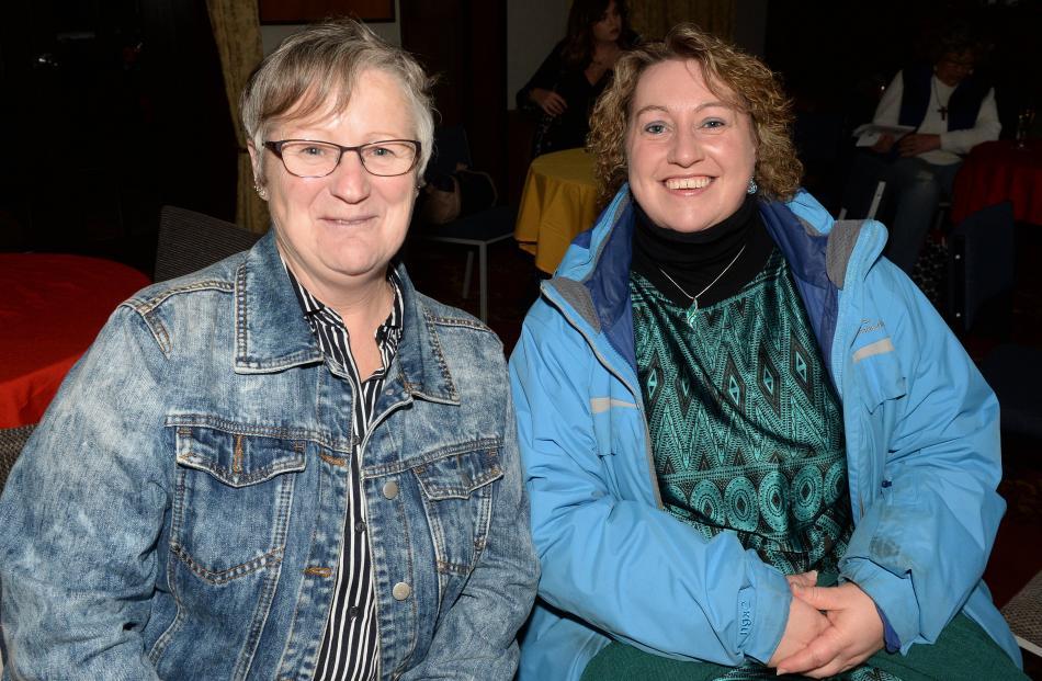 Debra Driver and Keryn Harrex, both of Dunedin.