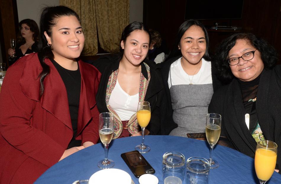 Kalesita Pole (20), Kreelahna Misikopa (18), Fa'ao'o Lale (20) and Alofa Lale, all of Dunedin.