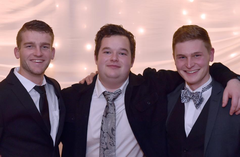 Damian Jacobs, Zane Carter and Tyler Neumann.