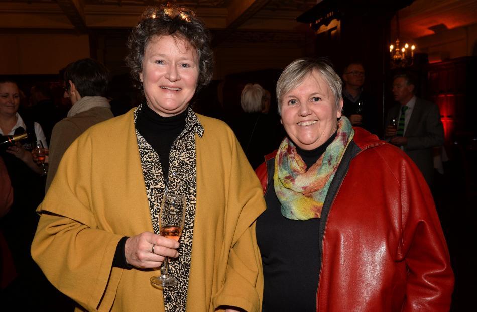 Megan Mickelsen and her wife Cecilia Mickelsen, both of Dunedin.
