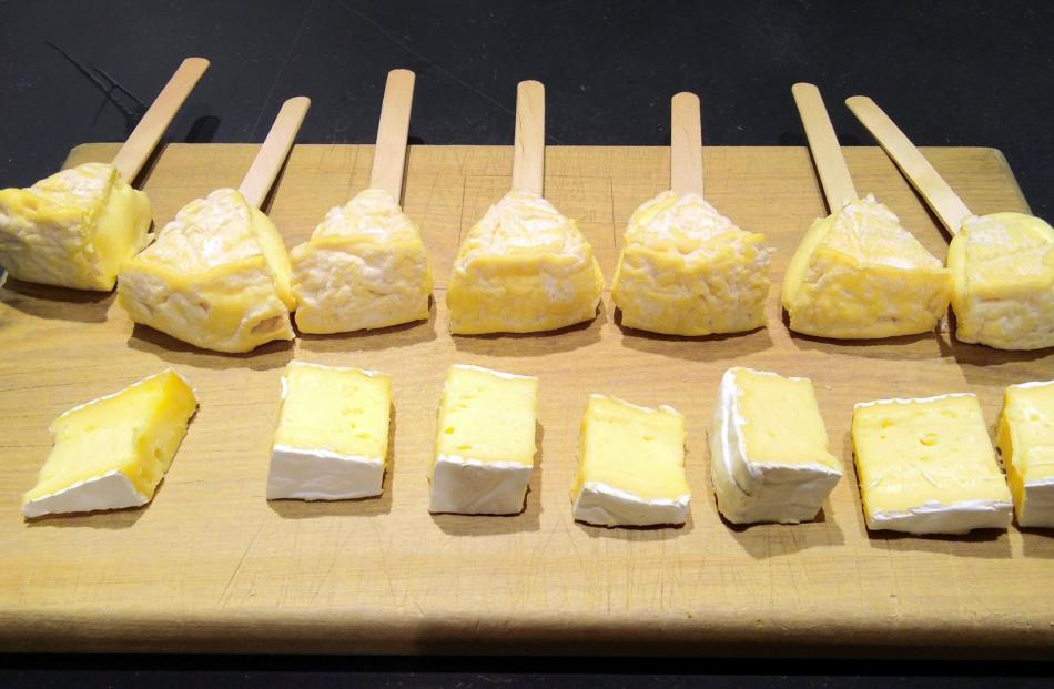 Checking out central Auckland eateries. Soft cheeses at Kapiti Cheese. Photos: Rebecca Fox
