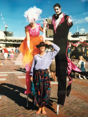 In May, 1988, Julia visited the newly opened Darling Harbour precinct in Sydney, Australia, just before her health broke down.