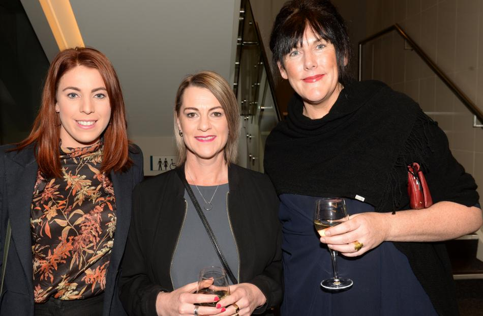 Anna Esquilant, Tanya Pulford and Janine Tindall-Morice, all of Dunedin.