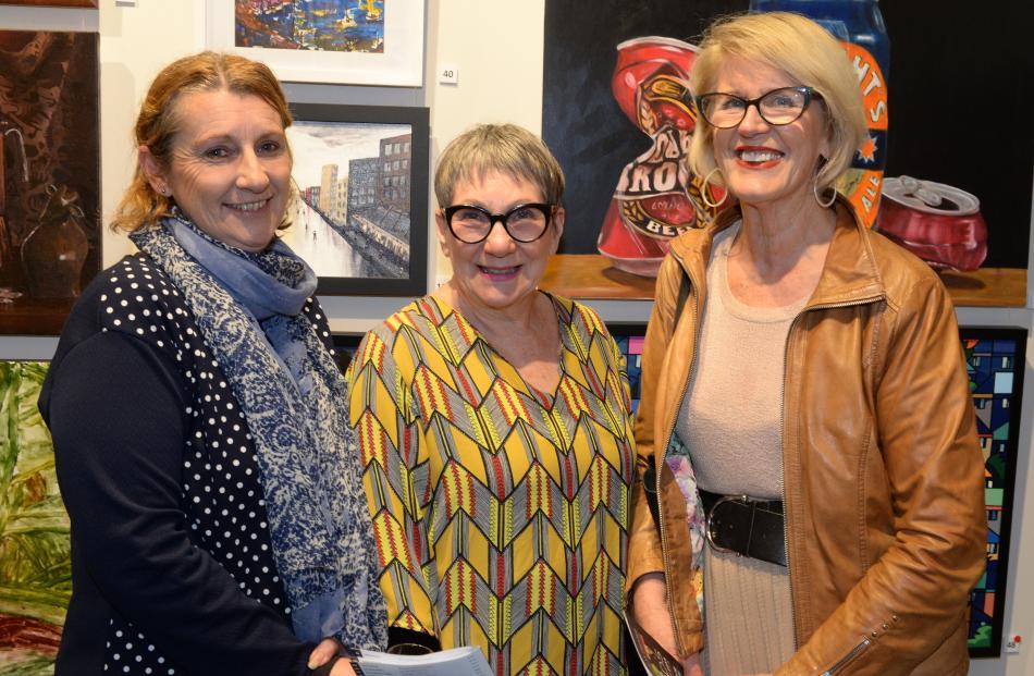 Marie Reid, of Kaitangata, and Denise Benwell and Judy Smith, both of Dunedin.