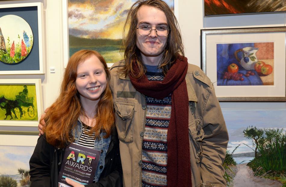 Amelia Hay and James Thomson-Bache, both of Dunedin.