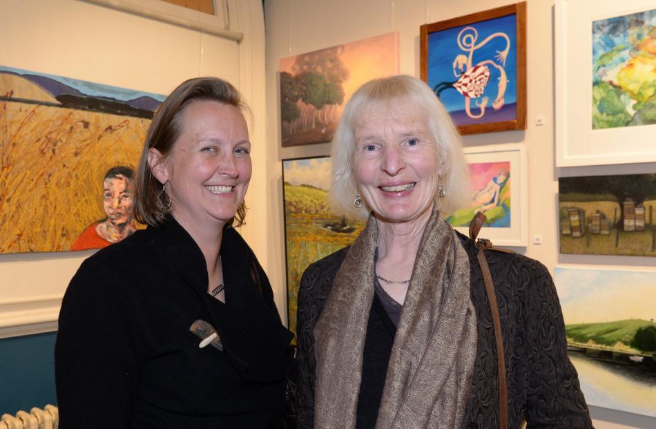 Jane Riley and Diana Dixon, both of Dunedin.