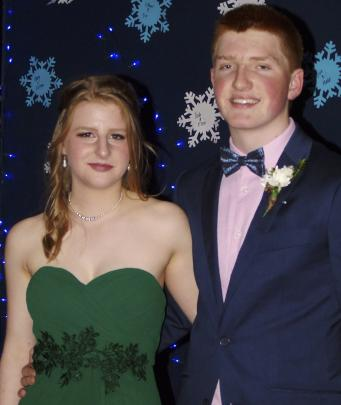 Greer Orchard (15), of Roxburgh, and Reuben Gooding (15), of Invercargill.