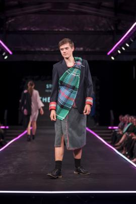''Expression of Tartan'', by Neesha Johnson, of Havelock, winner of under-23 category.