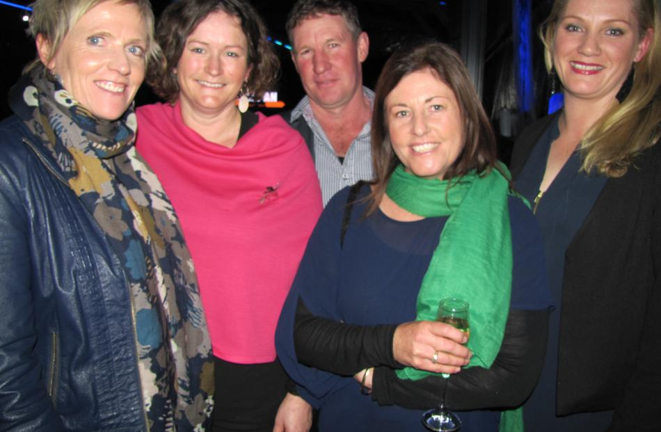 Lisa Nevill, of Moa Creek, Becs and Robbie Calder, of Lauder Station, Nicola McAtamney, of Lauder...