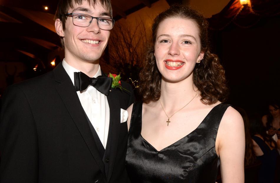 Joshua Price (20) and Caroline Burchell (19).