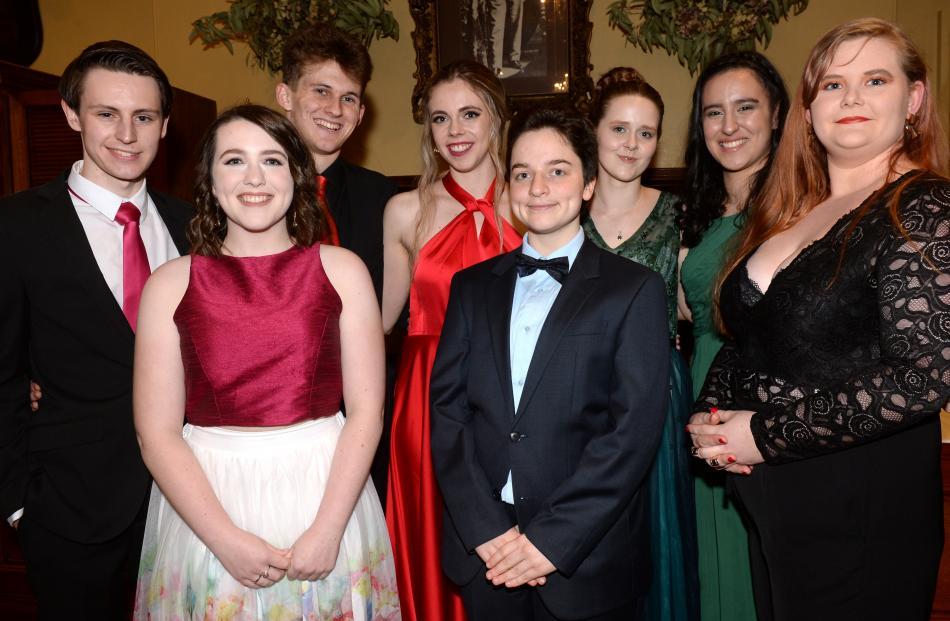 Kieran Redpath (19), Sera Rawson (19), Michael Nichols (19), Morgan Cashmore (20), Katja Brand (19), Bethany Cheesman (19), Sophie MacMillan and Rowan Simmons (both 20).