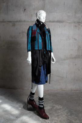 Garments from NOM*d's Bedlam collection that were part of the New Zealand Fashion Museum...