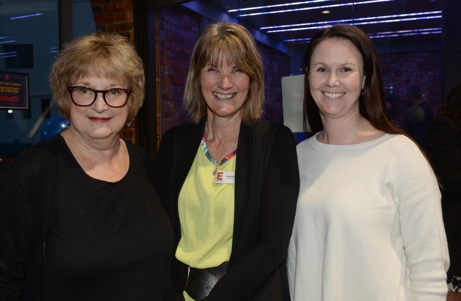 Lois Scott-Muir of Dunedin, Jenny Lambert of Mosgiel and Angela Robertson of Dunedin.