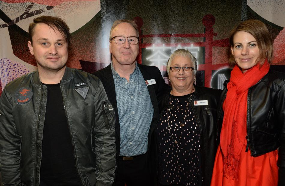 Brett Little, his parents Malcolm and Janice Little and his wife Karin Little, all of Dunedin.