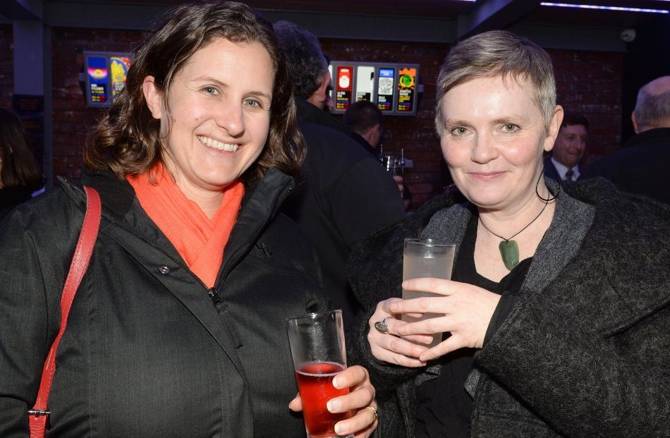 Stephanie Pettigrew and Liesel Mitchell, both of Dunedin.