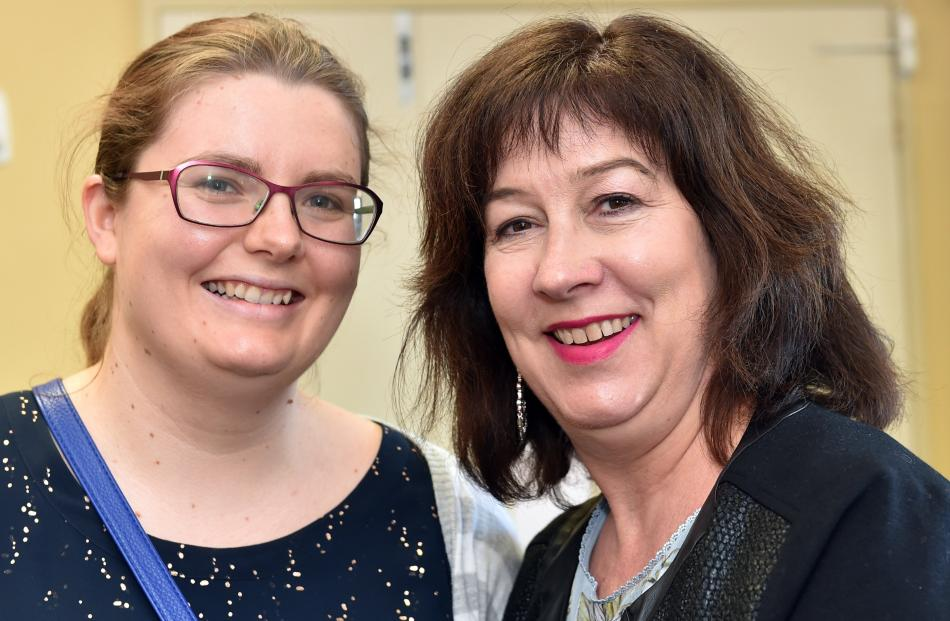 Tara Lee and Janet Bernard, both of Dunedin.