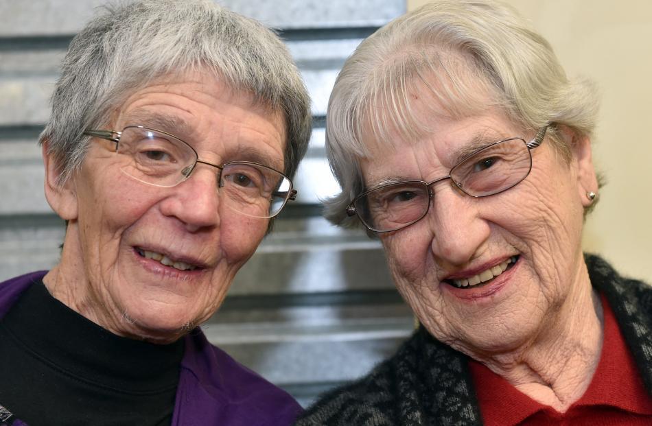 Fay Richardson and Eva Eaton, both of Dunedin.