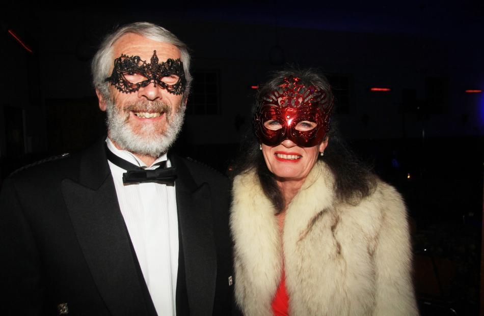 Brian and Janette Harrison, of Oamaru.